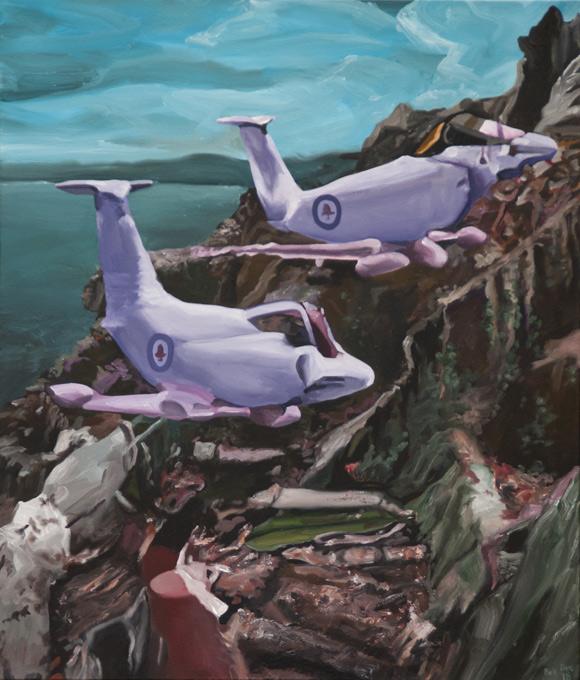Hawker-Herberts---Coasting-2018-107X92cm-acryl-canv-WS