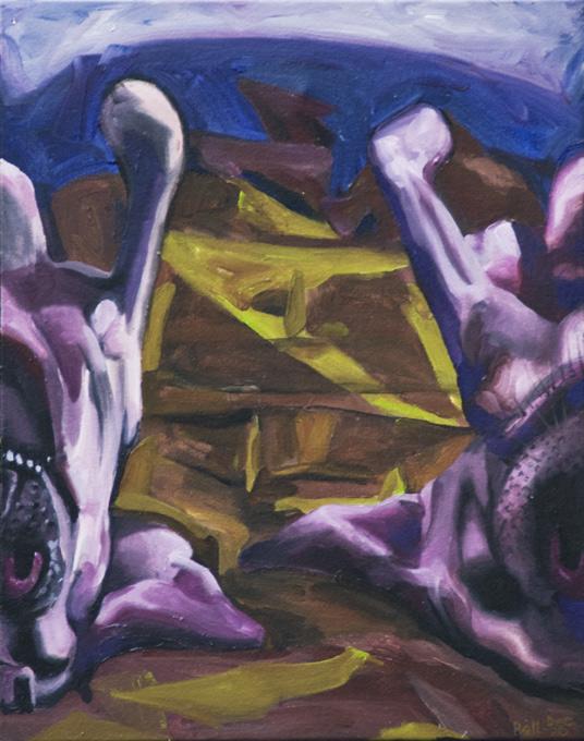 Sleeping-Dogs-2020-51X40cm-acryl-canv